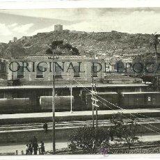 Postales: (PS-23655)POSTAL DE LORCA(MURCIA)-ESTACION DE FERROCARRIL. Lote 28341270