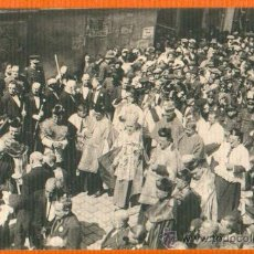 Postales: POSTAL ORIGINAL AÑO 1923 - CARTAGENA - LOS OBISPOS DETRAS DE LA VIRGEN DE LA CARIDAD - FOTO CASAÚ SC. Lote 28353311