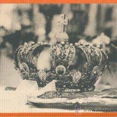 Postales: POSTAL ORIGINAL AÑO 1923 - CORONA DE LA VIRGEN DE LA CARIDAD DE CARTAGENA - FOTO CASAÚ SIN CIRCULAR. Lote 28353454
