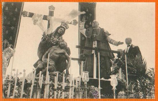 POSTAL ORIGINAL AÑO 1923 - CARTAGENA - FRUTO CALIENTE EN DISCURSO CORONACION VIRGEN - FOTO CASAÚ SC (Postales - España - Murcia Antigua (hasta 1.939))