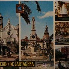 Postales: 154 CARTAGENA MURCIA POSTAL ESPAÑA - MIRA MAS DE ESTA CIUDAD EN MI TIENDA. Lote 28740716