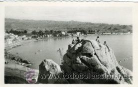 AGUILAS (MURCIA).- VISTA PARCIAL DEL PUERTO.- EDIC. AZNAR Nº 28.- FOTOGRÁFICA. (Postales - España - Murcia Moderna (desde 1.940))