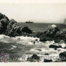 Postales: AGUILAS (MURCIA).- ROCAS DE LA AGUILICA EN LA MARINA.- EDIC. AZNAR Nº 16.- FOTOGRÁFICA.. Lote 28912954