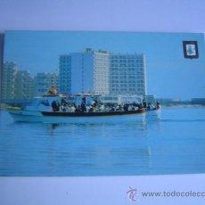 Postales: INTERESANTE POSTAL DE LA MANGA DEL MAR MENOR.-HOTEL DOBLEMAR CASINO. Lote 29607508
