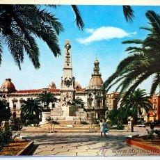 Postales: MURCIA. CARTAGENA. MONUMENTO A LOS HÉROES DE CAVITE.. Lote 29661443