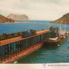 Postales: + AGUILAS MURCIA AÑO 1963 ANTIGUA POSTAL FERROCARRIL TREN RENFE. Lote 29712546