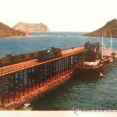Postales: + AGUILAS MURCIA AÑO 1963 ANTIGUA POSTAL FERROCARRIL TREN RENFE. Lote 29712556