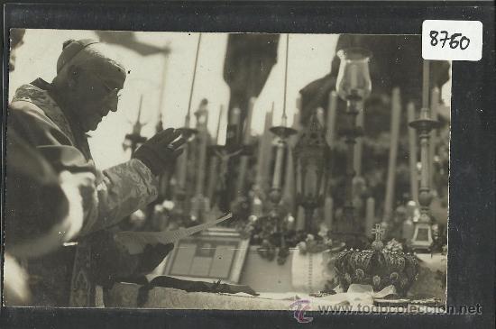 CARTAGENA -17 -ABRIL-1923 - RECDO. DE LA CORONACION VIRGEN DE LA CARIDAD -FOTOGR. CASAU - (8760) (Postales - España - Murcia Antigua (hasta 1.939))
