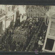 Postales: CARTAGENA -17 -ABRIL-1923 - RECDO. DE LA CORONACION VIRGEN DE LA CARIDAD -FOTOGR. CASAU - (8772). Lote 30194688