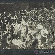 Postales: CARTAGENA -17 -ABRIL-1923 - RECDO. DE LA CORONACION VIRGEN DE LA CARIDAD -FOTOGR. CASAU - (8779). Lote 30194859