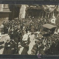 Postales: CARTAGENA -17 -ABRIL-1923 - RECDO. DE LA CORONACION VIRGEN DE LA CARIDAD -FOTOGR. CASAU - (8788). Lote 30195064