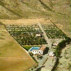 Postales: CAMPING LOS MADRILES ISLA PLANA CARTAGENA POSTALES HNOS. GALIANA NUEVA SIN CIRCULAR . Lote 30450440
