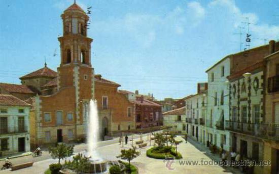 BULLAS Nº 10 MURCIA PLAZA DEL GENERALÍSIMO ESCRITA CIRCULADA SELLO (Postales - España - Murcia Moderna (desde 1.940))
