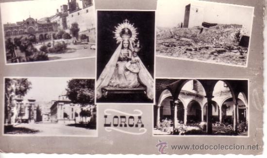 MURCIA - LORCA - DIVERSOS ASPECTOS - EDICIONES ARRIBAS (Postales - España - Murcia Moderna (desde 1.940))
