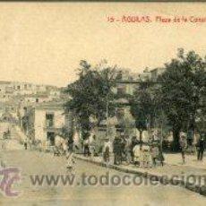 Postales: AGUILAS (MURCIA).- PLAZA DE LA CONSTIRUCIÓN.- EDIT. THOMAS Nº 15. Lote 30849970