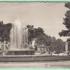 Postales: CARTAGENA, PLAZA DE ESPAÑA Y FUENTE MONUMENTAL, EDITOR GARCIA GARRABELLA Nº 27. Lote 31014836