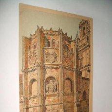 Postales: MURCIA CAPILLA CATEDRAL ANTIGUA TARJETA TAMAÑO POSTAL H 1910 CROMOLITOGRAFICA SUC DE HERNANDO . Lote 31261562
