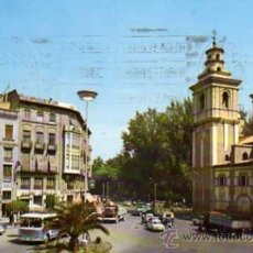 Postales: MURCIA Nº 113 PLAZA GONZÁLEZ CONDE A. SUBIRATS ESCRITA CIRCULADA SELLO. Lote 31626154