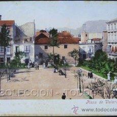 Postales: POSTAL CARTAGENA MURCIA PLAZA VALARINO TOGORES . PURGER & CO. CA AÑO 1900 .. Lote 31958133