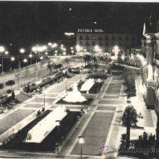 Postales: POSTAL DE MURCIA GLORIETA ESPAÑA VISTA DE NOCHE Nº 1098 DE ARRIBAS 1959. Lote 31820372
