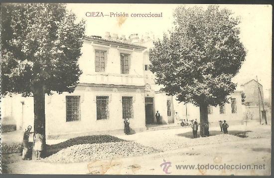 TARJETA POSTAL DE CIEZA MURCIA - PRISION CORRECCIONAL CARCEL (Postales - España - Murcia Antigua (hasta 1.939))