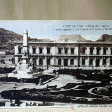 Postales: POSTAL, TARJETA POSTAL, CARTAGENA, OBRAS DEL PUERTO, ED. CASDAU. Lote 33332611