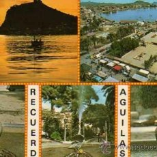 Postales: AGUILAS Nº 60 MURCIA VARIOS DETALLES POSTALES HNOS. GALIANA SIN CIRCULAR. Lote 33510746
