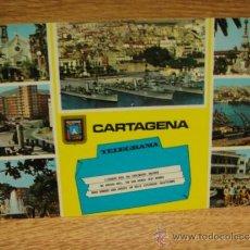 Postales: CARTAGENA - POSTAL ESCRITA - EDICIONES SUBIRATS CASANOVAS. Lote 34090384