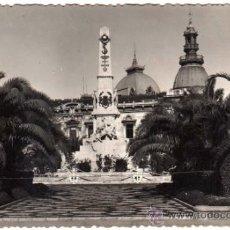 Postales: BONITA POSTAL - FOTOGRAFICA - CARTAGENA (MURCIA) - MONUMENTO A LOS HEROES DE CAVITE. Lote 34115456