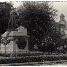 Postales: POSTAL FOTOGRAFICA - CARTAGENA (MURCIA) - PLAZA SAN FRANCISCO - ESTATUA DE ISIDORO MAIQUEZ. Lote 34959464