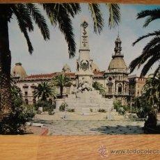 Postales: CARTAGENA MONUMENTO A SANTIAGO Y CAVITE SIN CIRCULAR - EDICIONES VISTAVELLA. Lote 34427597