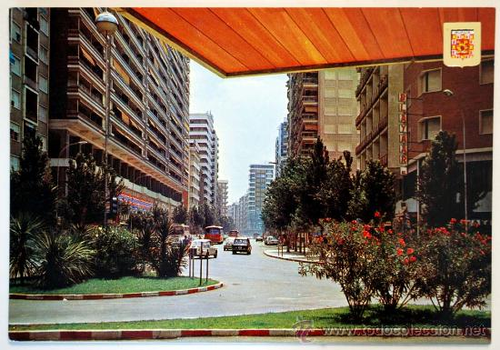 MURCIA. AVENIDA JOSE ANTONIO. (Postales - España - Murcia Moderna (desde 1.940))