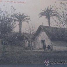 Postales: ANTIGUA POSTAL MURCIA UN RINCON DE LA HUERTA BARRACA THOMAS BARCELONA. Lote 35020390