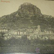 Postales: ANTIGUA POSTAL MURCIA MONTEAGUDO FOTOTIPIA THOMAS BARCELONA. Lote 35174301