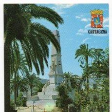 Postales: CARTAGENA. MONUMENTO ALOS HÉROES DE CAVITE Y SANTIAGO DE CUBA 1898.. Lote 35378711