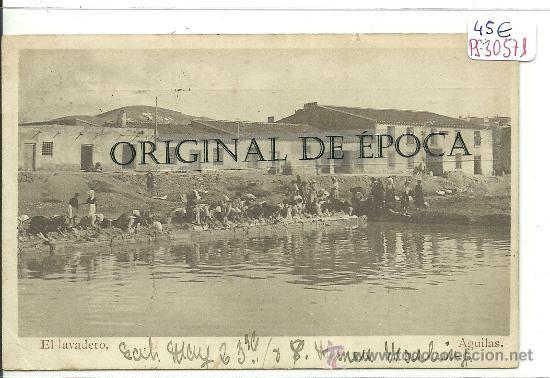 (PS-30571)POSTAL DE AGUILAS-EL LAVADERO (Postales - España - Murcia Antigua (hasta 1.939))