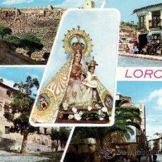 Postales: MURCIA - LORCA - DIVERSOS ASPECTOS. Lote 35503874