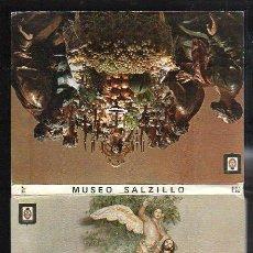 Postales: LIBRO DE 10 POSTALES DEL MUSEO SALZILLO. MURCIA. VER FOTOS. Lote 36086399