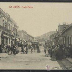 Postales: LA UNION - CALLE MAYOR - THOMAS - (14.485). Lote 36487236