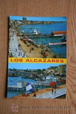 LOS ALCÁZARES. MAR MENOR (MURCIA). PLAYA. (Postales - España - Murcia Moderna (desde 1.940))
