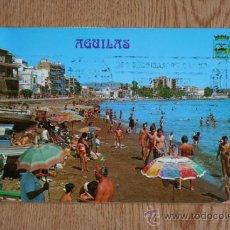 Postales: ÁGUILAS. PLAYA DE LEVANTE.. Lote 36588219