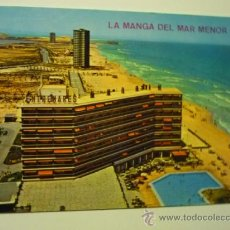 Postales: POSTAL LA MANGA DEL MAR MENOR.-2007 -VISTA PANORAMICA --ESCRITA. Lote 36590202