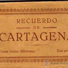 Postales: BLOCK 20 VISTAS. RECUERDO DE CARTAGENA. IMPRENTA Y TIPOGRAFIA HORACIO ESCARABAJA. CASAU.. Lote 36653417