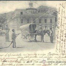 Postales: BAÑOS DE ARCHENA (MURCIA).- CALLE PRINCIPAL. Lote 36998202