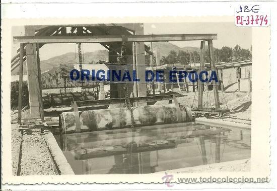 (PS-37794)POSTAL FOTOGRAFICA DE CARAVACA-BAÑO DE TUBOS (Postales - España - Murcia Moderna (desde 1.940))
