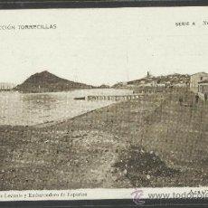 Postales: AGUILAS - SERIE A NUM 10 - PLAYA DE LEVANTE Y EMBARCADERO... - COLECCION TORRECILLAS - (17224). Lote 38304513