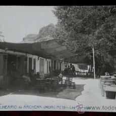 Postales: FOTO POSTAL DE ARCHENA (MURCIA) GRAN BALNEARIO, ANDRES FABERT 19 LAS BARRACAS. Lote 38472450