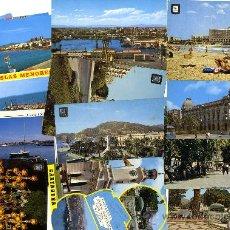 Postales: CARTAGENA-PLAYAS MAR MENOR LOTE 14 POSTALES AÑOS 80 . Lote 38840319