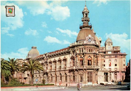CARTAGENA.- AYUNTAMIENTO. (Postales - España - Murcia Moderna (desde 1.940))