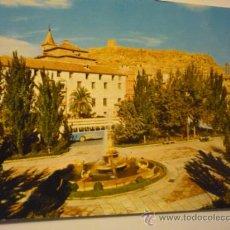 Postales: POSTAL LORCA .-VISTA PL.COLON Y CASTILLO FONDO.-ESCRITA. Lote 38948791
